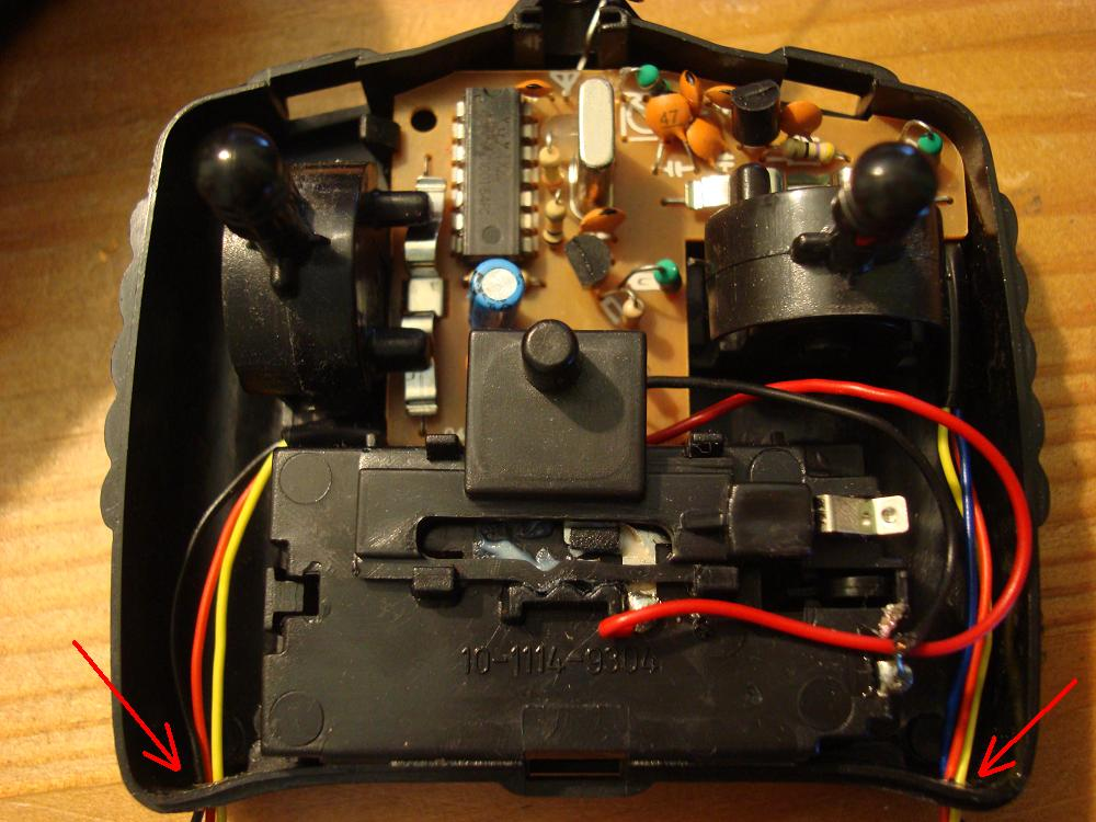 Tidying up the controller for the pc controlled RC car